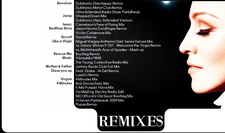 Madonna - Jump - Remixes