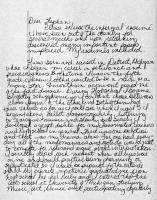 Madonna hand-written letter to Stephen Lewicki (2)