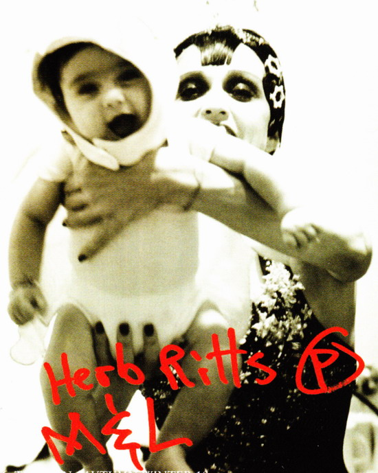 Madonna and Lola by Herb Ritts Scan