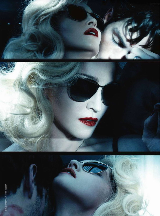 New Madonna Ads in Harper's Bazaar 01