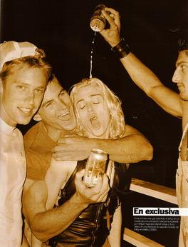 Madonna et Tony Ward à Malibu