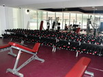 Inside Madonna's Hard Candy Fitness Centers 21