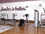 Inside Madonna's Hard Candy Fitness Centers 26