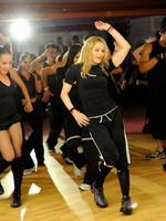 Madonna during the exclusive dance class at the Hard Candy Fitness center, Mexico 05