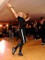 Madonna during the exclusive dance class at the Hard Candy Fitness center, Mexico 11