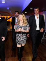 Madonna during the exclusive dance class at the Hard Candy Fitness center, Mexico 16
