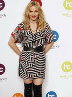 Madonna at the opening of the Hard Candy Fitness center, Mexico 23