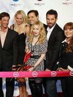 Madonna at the opening of the Hard Candy Fitness center, Mexico 24