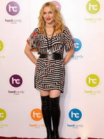 Madonna at the opening of the Hard Candy Fitness center, Mexico 25