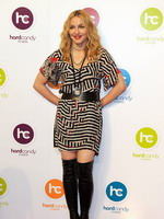 Madonna at the opening of the Hard Candy Fitness center, Mexico 31