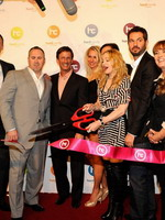 Madonna at the opening of the Hard Candy Fitness center, Mexico 33