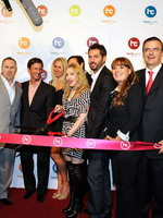 Madonna at the opening of the Hard Candy Fitness center, Mexico 34