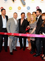 Madonna at the opening of the Hard Candy Fitness center, Mexico 35