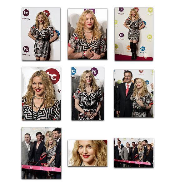 Madonna à l'inauguration du premier centre Hard Candy Fitnessr, Mexico 02
