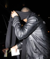 Madonna and Brahim Zaibat leaving the Wolseley Restaurant, London 03