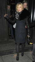 Madonna and Brahim Zaibat leaving the Wolseley Restaurant, London 06