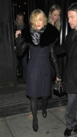 Madonna and Brahim Zaibat leaving the Wolseley Restaurant, London 07