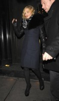 Madonna and Brahim Zaibat leaving the Wolseley Restaurant, London 11