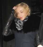Madonna and Brahim Zaibat leaving the Wolseley Restaurant, London 12