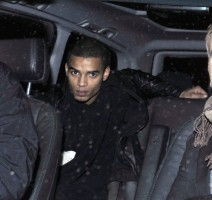 Madonna and Brahim Zaibat leaving the Wolseley Restaurant, London 13