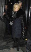 Madonna and Brahim Zaibat leaving the Wolseley Restaurant, London 14