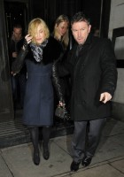 Madonna and Brahim Zaibat leaving the Wolseley Restaurant, London 15
