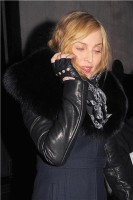 Madonna and Brahim Zaibat leaving the Wolseley Restaurant, London 16