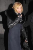 Madonna and Brahim Zaibat leaving the Wolseley Restaurant, London 18