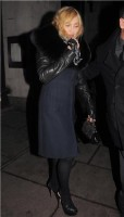 Madonna and Brahim Zaibat leaving the Wolseley Restaurant, London 19