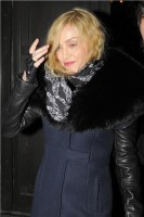 Madonna and Brahim Zaibat leaving the Wolseley Restaurant, London 21