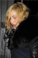 Madonna and Brahim Zaibat leaving the Wolseley Restaurant, London 22