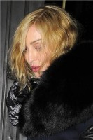 Madonna and Brahim Zaibat leaving the Wolseley Restaurant, London 23