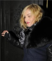 Madonna and Brahim Zaibat leaving the Wolseley Restaurant, London 24
