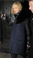 Madonna and Brahim Zaibat leaving the Wolseley Restaurant, London 25