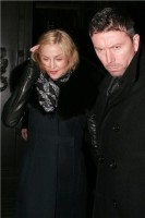 Madonna and Brahim Zaibat leaving the Wolseley Restaurant, London 28