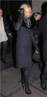 Madonna and Brahim Zaibat leaving the Wolseley Restaurant, London 32