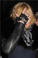 Madonna and Brahim Zaibat leaving the Wolseley Restaurant, London 34