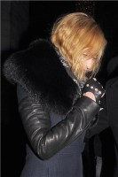 Madonna and Brahim Zaibat leaving the Wolseley Restaurant, London 35