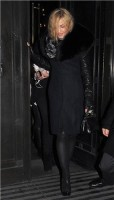 Madonna and Brahim Zaibat leaving the Wolseley Restaurant, London 36
