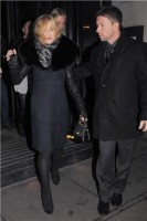 Madonna and Brahim Zaibat leaving the Wolseley Restaurant, London 39