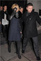 Madonna and Brahim Zaibat leaving the Wolseley Restaurant, London 40