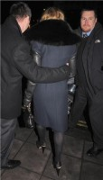 Madonna and Brahim Zaibat leaving the Wolseley Restaurant, London 41