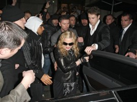 Madonna and Brahim Zaibat leaving the Aura Nightclub in Mayfair, London on January 6th 2011 02