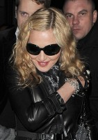 Madonna and Brahim Zaibat leaving the Aura Nightclub in Mayfair, London on January 6th 2011 07