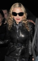 Madonna and Brahim Zaibat leaving the Aura Nightclub in Mayfair, London on January 6th 2011 08