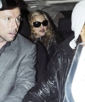 Madonna and Brahim Zaibat leaving the Aura Nightclub in Mayfair, London on January 6th 2011 14