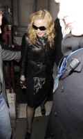Madonna and Brahim Zaibat leaving the Aura Nightclub in Mayfair, London on January 6th 2011 15