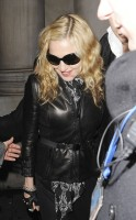 Madonna and Brahim Zaibat leaving the Aura Nightclub in Mayfair, London on January 6th 2011 16