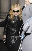 Madonna and Brahim Zaibat leaving the Aura Nightclub in Mayfair, London on January 6th 2011 19