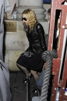 Madonna and Brahim Zaibat leaving the Aura Nightclub in Mayfair, London on January 6th 2011 20